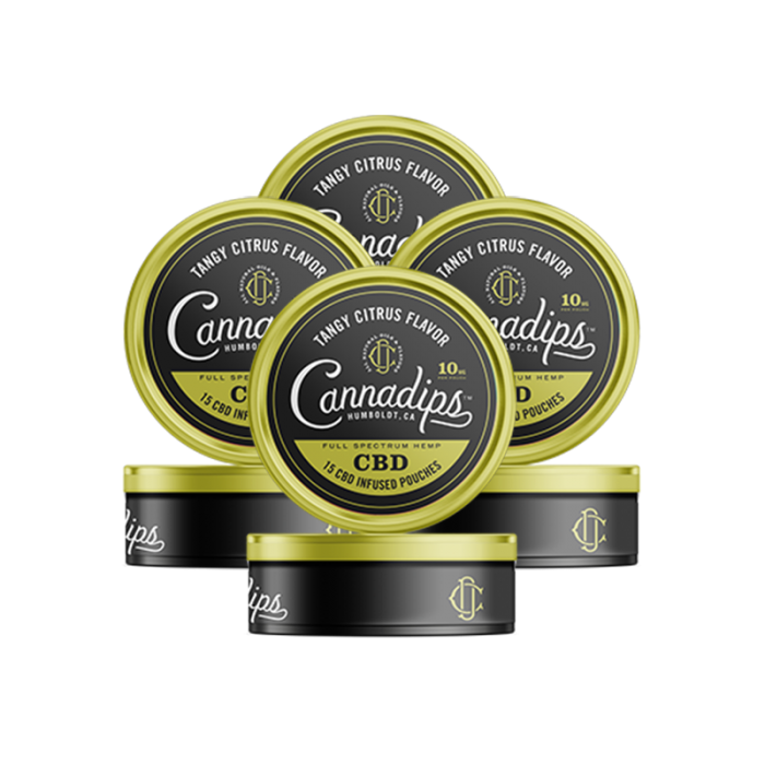 CBD Infused Pouches - Tangy Citrus 4 Pack