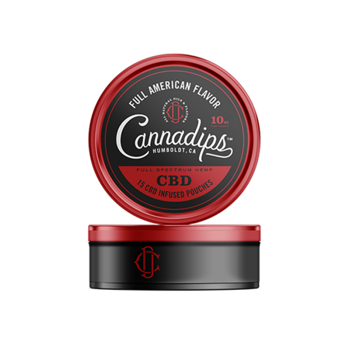 CBD Infused Pouches - American Spice